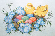 Brand New - Stitch Painted Needlepoint Canvas from Sandra Gilmore