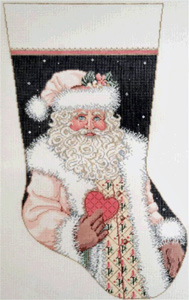Spirit Stocking Hand Painted Needlepoint Canvas
