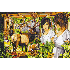 Margot Creations de Paris Needlepoint - Tapestries - Double des Bois