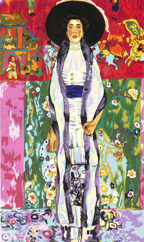 Margot Creations de Paris Needlepoint - Tapestries - Adele 2 by Klimt