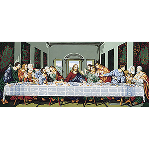 Royal Paris Needlepoint - Leonardo da Vinci's Last Supper Large Canvas