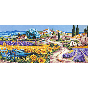 Royal Paris Needlepoint - The Two Provences Large Canvas