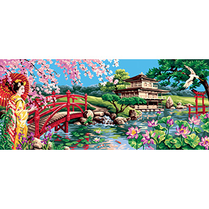 Royal Paris Needlepoint - Splendor of Asia