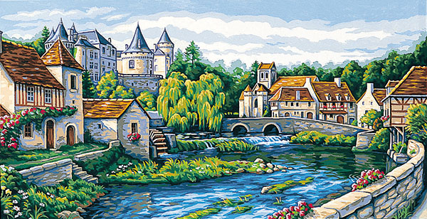 Margot Creations de Paris Needlepoint Jolie France Tapestry Canvas