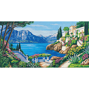 Margot Creations de Paris Needlepoint (Villas de Reve) Dream Villa Tapestry Canvas