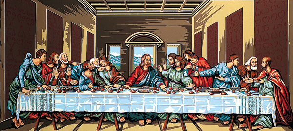 The Last Supper- Margot Creations de Paris Needlepoint