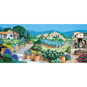 Margot Creations de Paris Needlepoint - Provence (Douce Provence, Sweet Provence)