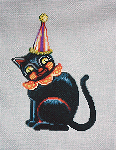 Krazy - Stitch Painted Needlepoint Canvas from Sandra Gilmore