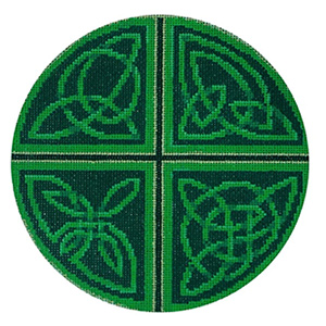Celtic - Stitch Painted Needlepoint Canvas from Sandra Gilmore