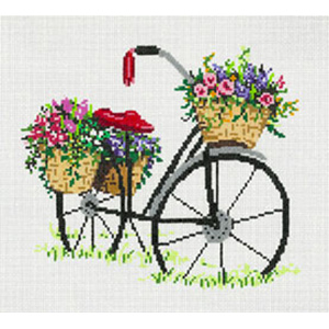 Delivery - Stitch Painted Needlepoint Canvas from Sandra Gilmore