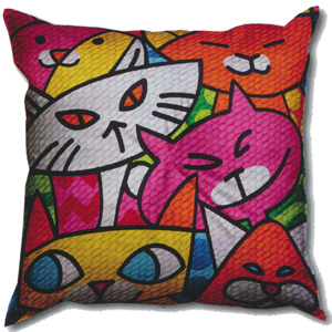 SEG de Paris Needlepoint Quickpoint Cushion Kit - Charandole