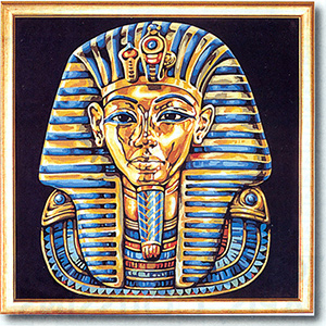 SEG de Paris Needlepoint King Tut Canvas