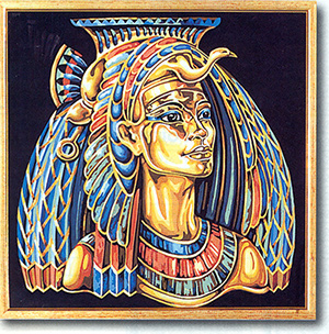 SEG de Paris Needlepoint Egyptian Queen Canvas