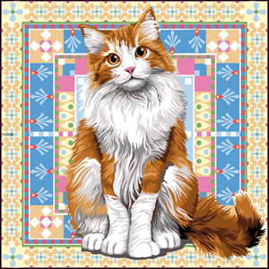SEG de Paris Needlepoint Persian Canvas