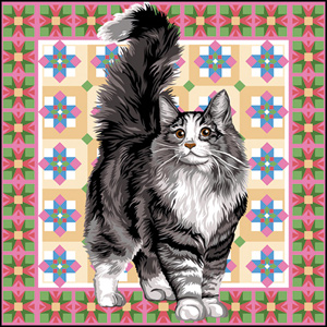 SEG de Paris Needlepoint Angora Canvas