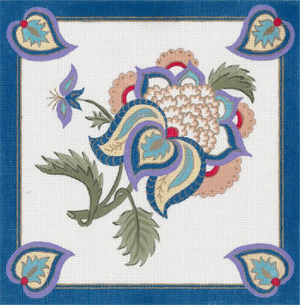 Turkish Design - Blue Border