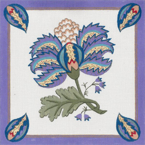 Turkish Design - Lavender Border
