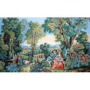 Margot Creations de Paris Needlepoint - Verdure Romantique
