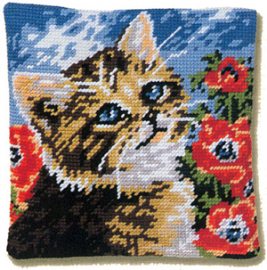 Margot Creations de Paris Needlepoint - Minou