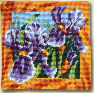 Margot Creations de Paris Needlepoint - Les Iris