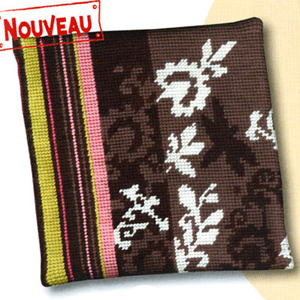 Margot Creations de Paris Needlepoint - Cushions - Aube