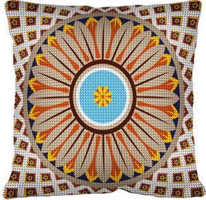 Margot Creations de Paris Needlepoint - Cushions - Dome de Mosta
