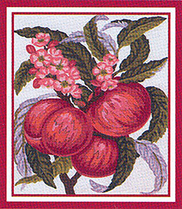Peaches  - Collection d'Art Needlepoint Canvas
