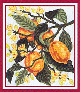 Lemons  - Collection d'Art Needlepoint Canvas