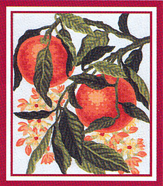 Oranges  - Collection d'Art Needlepoint Canvas