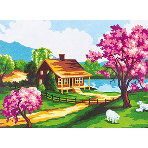 Spring  - Collection d'Art Needlepoint Canvas