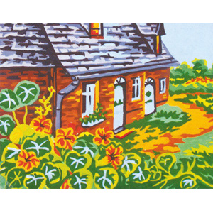 Cottage  - Collection d'Art Needlepoint Canvas