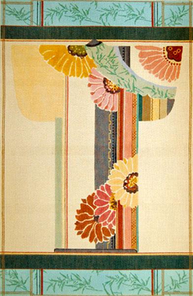 Needlepointus World Class Needlepoint Floral Kimono
