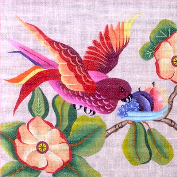 Leigh Designs - Hand-painted Needlepoint Canvases - Brazil Collection - Cha-Cha