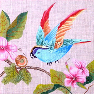 Leigh Designs - Hand-painted Needlepoint Canvases - Brazil Collection - Lambada