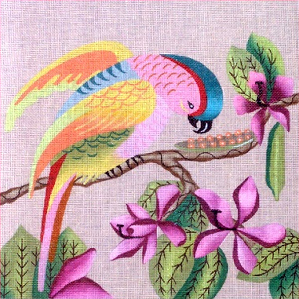 Leigh Designs - Hand-painted Needlepoint Canvases - Brazil Collection - Salsa