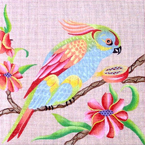 Leigh Designs - Hand-painted Needlepoint Canvases - Brazil Collection - Tango