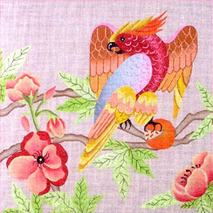Leigh Designs - Hand-painted Needlepoint Canvases - Brazil Collection - Mambo