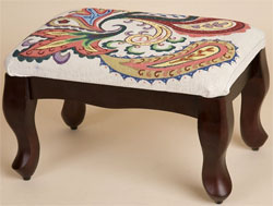 Sudberry Classic Footstool 9x14""