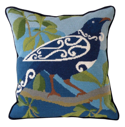 Tui Needlepoint Cushion Kit - Product of New Zealand
