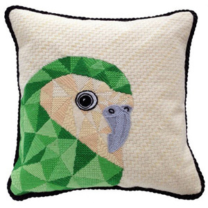 Kakapo Needlepoint Cushion Kit - Product of New Zealand