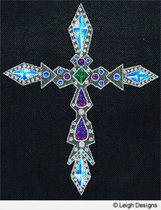Leigh Designs - Hand-painted Needlepoint Canvases - Historic Crosses - Crusader's Cross