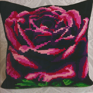 Rose Cardinal - Collection d'Art Needlepoint Kit