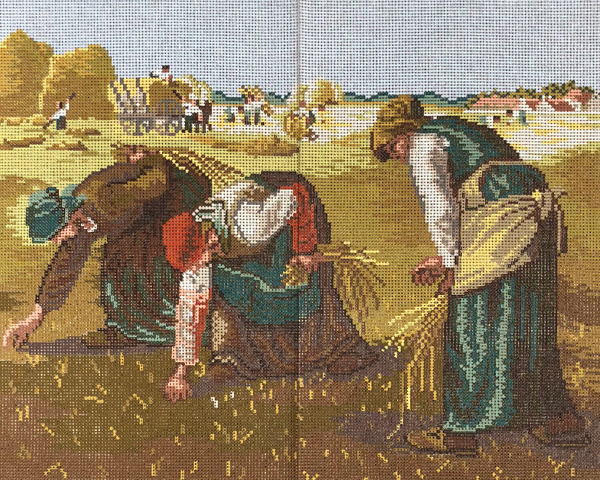 The Gleaners by Millet
