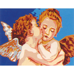 Angel Kiss  - Collection d'Art Needlepoint Canvas