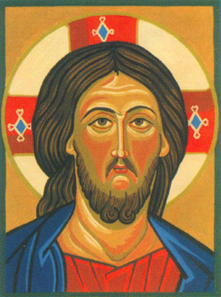 Jesus Icon  - Collection d'Art Needlepoint Canvas