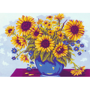 Sunflowers  - Collection d'Art Needlepoint Canvas