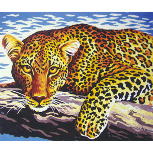 Leopard Look  - Collection d'Art Needlepoint Canvas