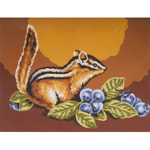 Squirrel  - Collection d'Art Needlepoint Canvas