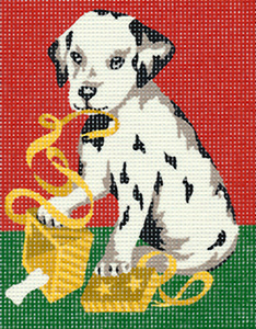 Margot Creations de Paris Needlepoint - Picture Kits - Dalmatian