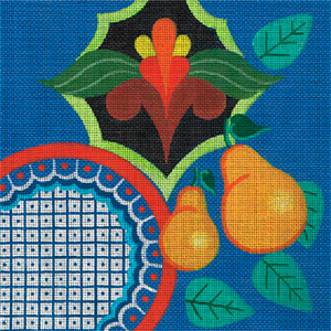 Leigh Designs - Hand-painted Needlepoint Canvases - Baja Collection - Ensenada